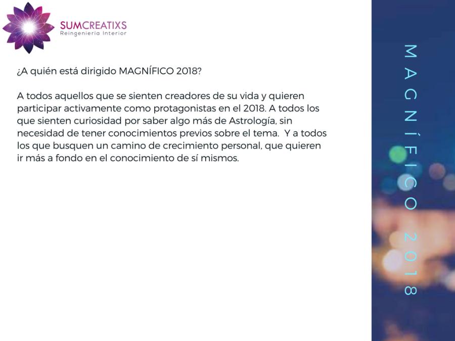 presentación MAGNÍFICO 2018-2